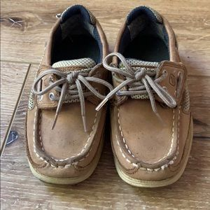 Boys Sperry Topsider shoes